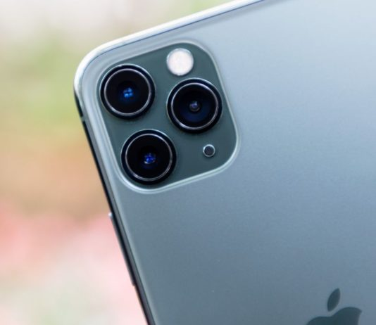 iPhone 11 Pro Max rear cameras