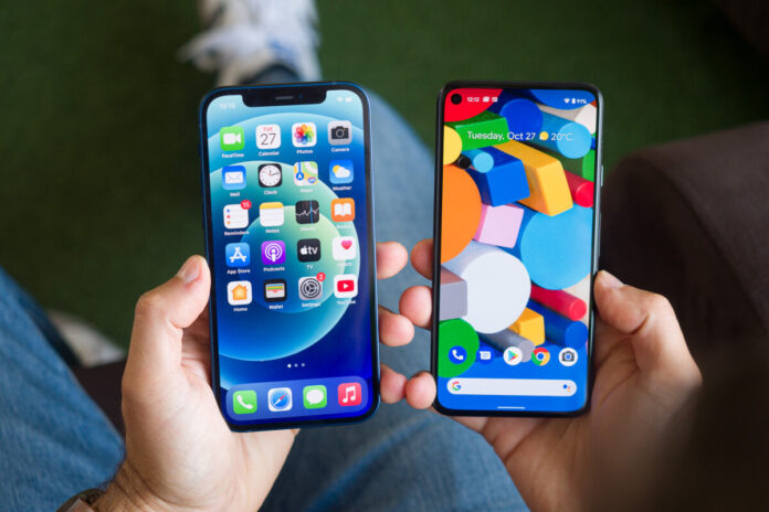 Apple iPhone 12 против Google Pixel 5